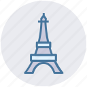 building, country, eiffel tower, france, landmark, paris, tower