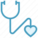 beat, checkup, doctor, healthcare, heart, sound, stethoscope icon