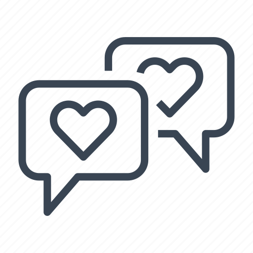 chat, date, love, message, talk icon