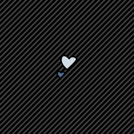 date, heart, love, romance, valentine icon