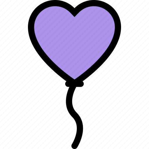 balloon, love, lovers, relationship, valentine's day, wedding icon
