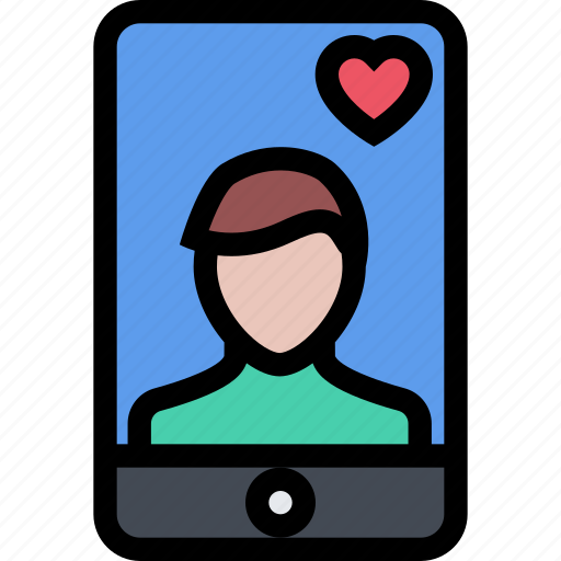 boyfriend, love, lovers, phone, relationship, valentine's day, wedding icon