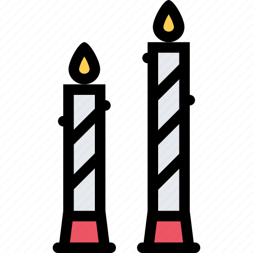 candles, love, lovers, relationship, valentine's day, wedding icon