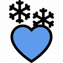 cold, heart, love, lovers, relationship, valentine's day, wedding icon