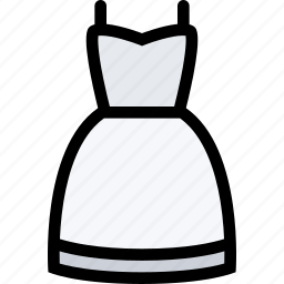 dress, love, lovers, relationship, valentine's day, wedding icon