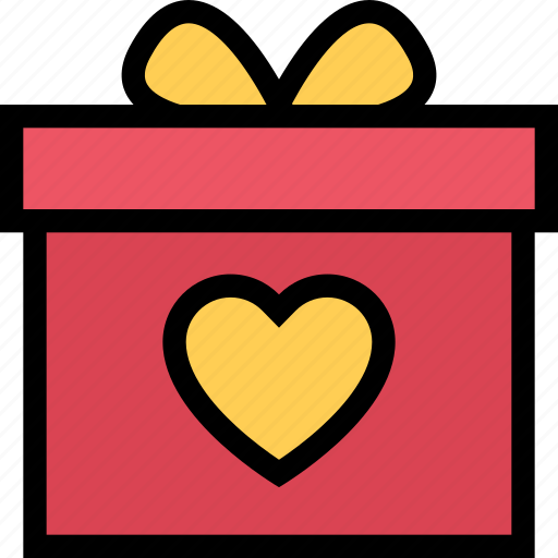 gift, love, lovers, relationship, valentine's day, wedding icon