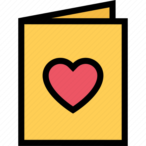 card, heart, love, lovers, relationship, valentine's day, wedding icon