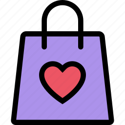 heart, love, lovers, package, relationship, valentine's day, wedding icon