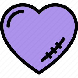 heart, love, lovers, relationship, scar, valentine's day, wedding icon