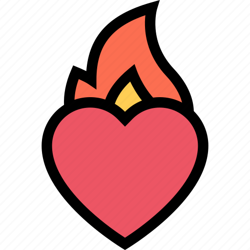 heart, hot, love, lovers, relationship, valentine's day, wedding icon