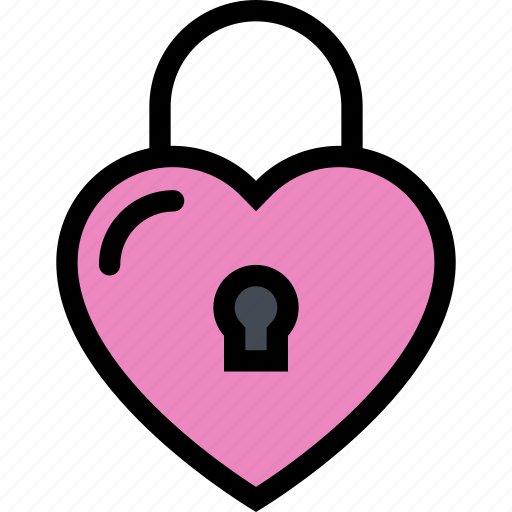 lock, love, lovers, relationship, valentine's day, wedding icon
