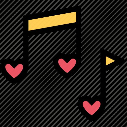 love, lovers, music, relationship, valentine's day, wedding icon