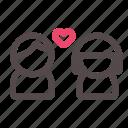 couple, love, romantic, valentine