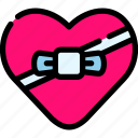 gift, love, romance, valentine icon