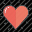 heart, hearts, love, shape, valentine, valentines, wedding icon