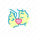 couple, heart, kiss, love, marriage, romance, valentine icon