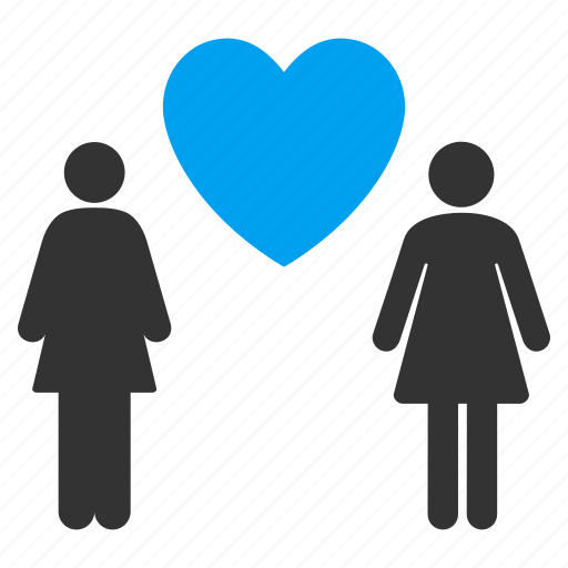 amour, dating, favorite, lady pair, lesbi couple, valentine, woman love icon