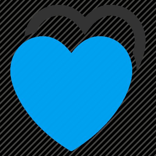 favorite, hearts, love, romantic, valentine, valentines day, wedding icon
