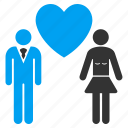 couple, family, favorite, love persons, people dating, romantic, wedding icon
