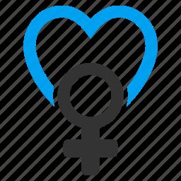 female love, feminine, girl, girlfriend, sex, sexual, sexuality icon
