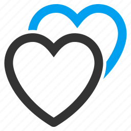 favorites, hearts, love, marriage, romantic, valentine, wedding icon