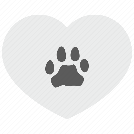 foot, footstep, heart, leopard, love, puma, tiger icon