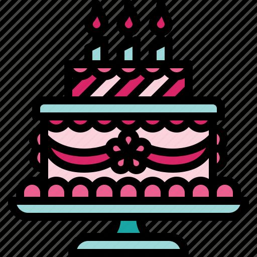 cake, love, marriage, valentine, wedding icon