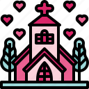 catholic, christian, church, marriage, wedding icon