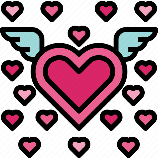 heart, love, romantic, valentine icon