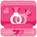diamond, engagement, love, marriage, ring, wedding icon