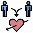couple, destiny, heart, love, marry, valentine