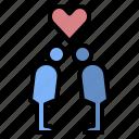 couple, honeymoon, kiss, love, marry, relationship, wedding
