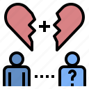 alone, couple, lonely, missing, someone icon