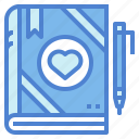 diary, heart, love, romance