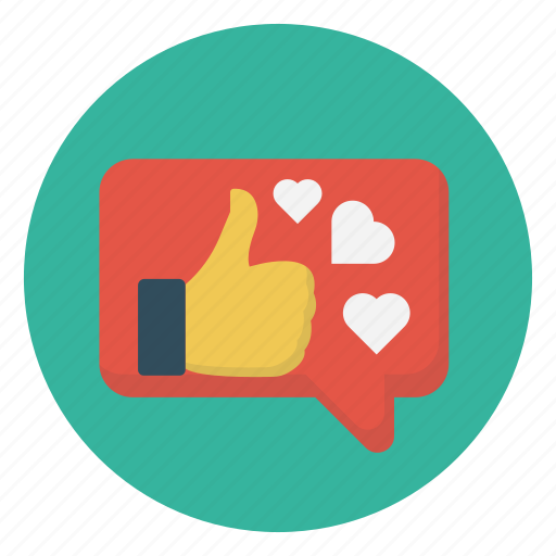 Chat, heart, like, love, message icon - Download on Iconfinder