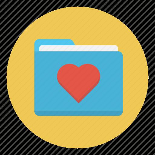 Folder, heart, like, love, valentine icon - Download on Iconfinder