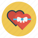 gift, heart, love, present, valentine