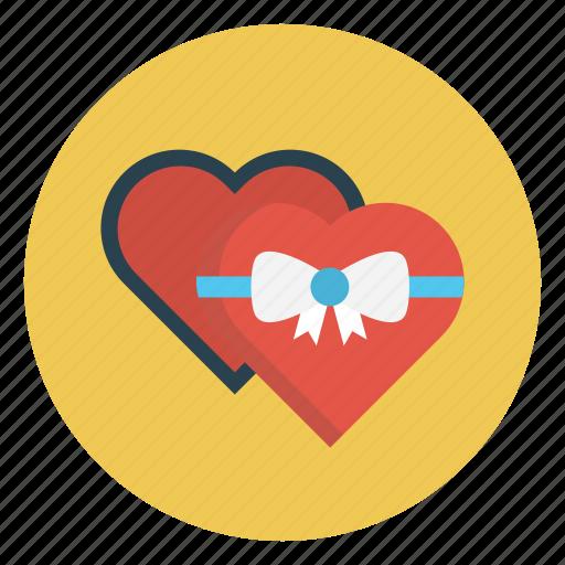 Gift, heart, love, present, valentine icon - Download on Iconfinder