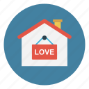 apartment, home, house, love, valentine