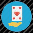 casino, game, heart, playingcard, poker