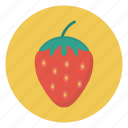 eat, food, fruit, healthy, strawberry icon