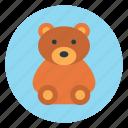 bear, love, teddy, toy, valentine icon