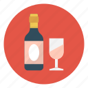 alcohol, beer, love, valentine, wine