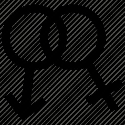 female sex, feminine, male, man, person, sex, sexology icon