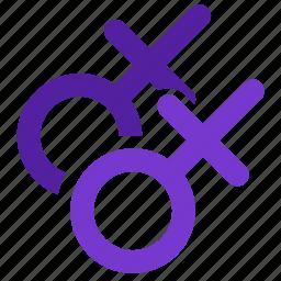 bisexual, gay, gender, homosexual, lesbian, pride, women icon