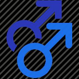 bisexual, gay, gay pride, gender, homosexual, men, pride icon