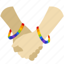 gay, gay pride, hold, homosexual, love, pride, romantic icon