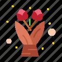 bouquet, flower, gift