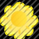 summer, sun, sunny, sunshine, warm, weather icon