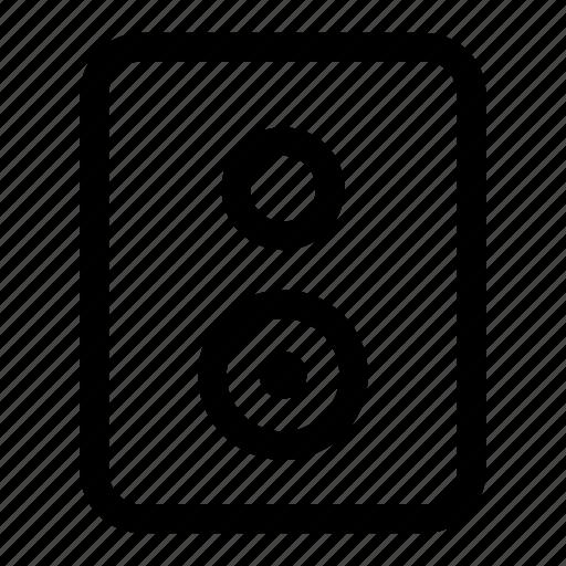 loud, multimedia, music, speaker, woofer icon